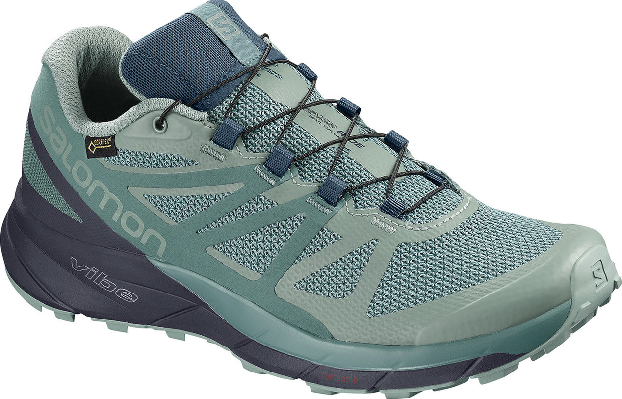 sports shoes 4b6eb 829c1 Salomon Women s Sense Ride GTX Invisible Fit Trail Running Shoes