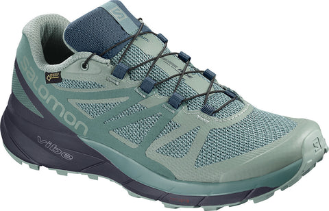Salomon Sense Ride GTX Invisible Fit Trail Running Shoes - Women's