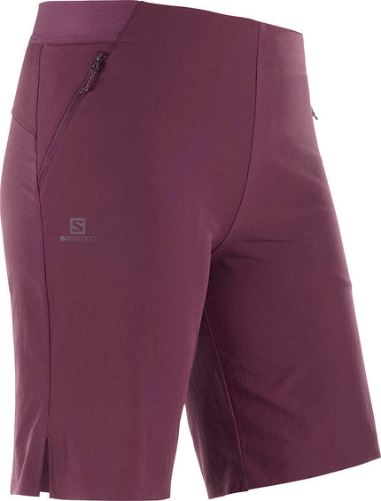 Salomon Wayfarer Pull On Short - Women's