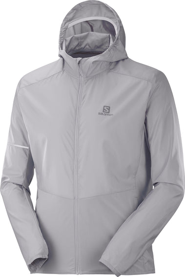 Salomon Agile Full Zip Hoodie - Men's