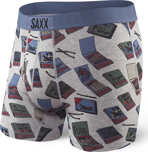 SAXX Underwear Men's Ultra Boxer Fly Matchbook