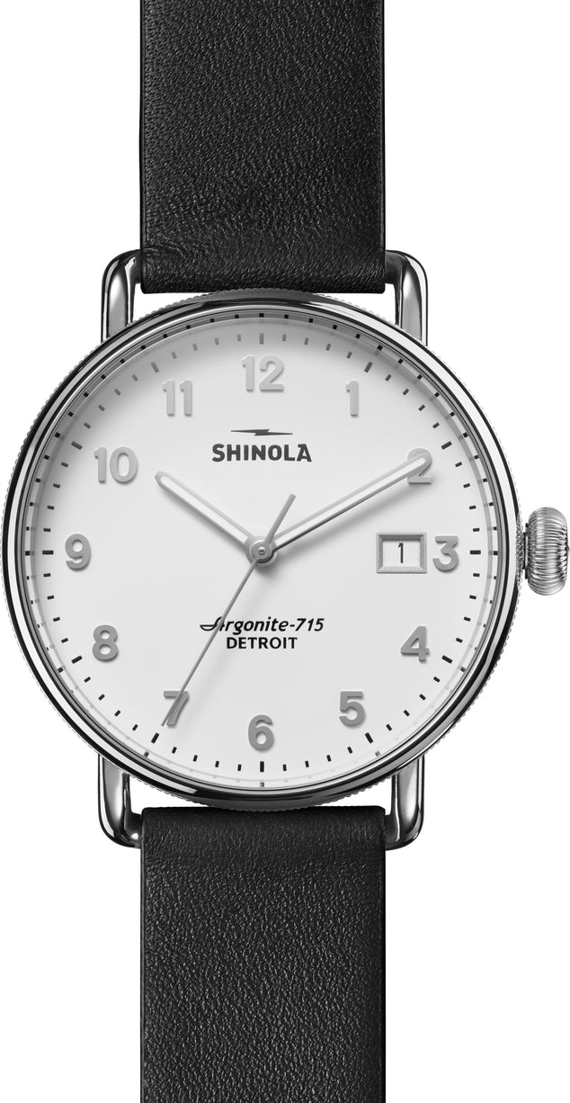 Shinola Montre Canfield  - Homme