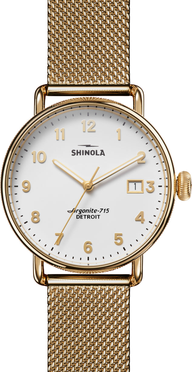 Shinola Montre Canfield  - Unisexe