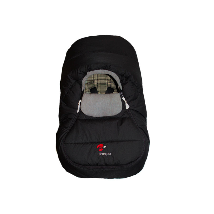 Sherpa Wigwam Cover For Baby Car Seat