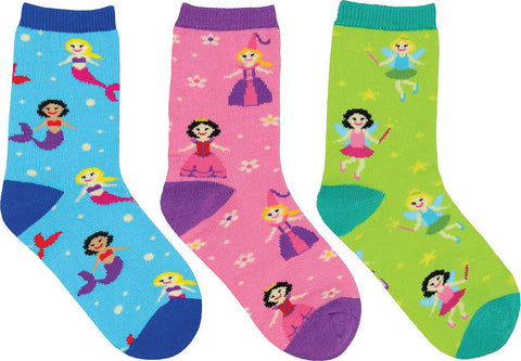 Socksmith 3 Pack  Happily Ever After Socks - Kids