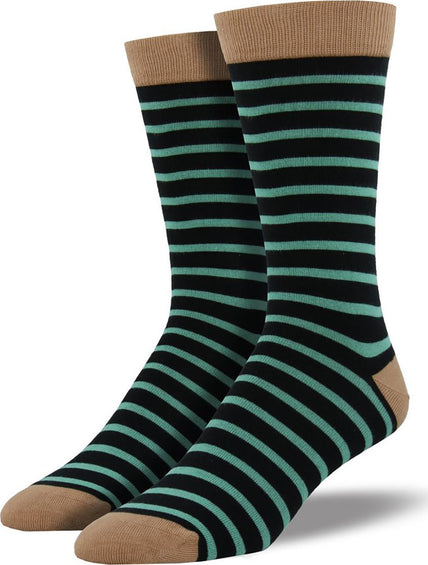 Socksmith Bamboo Sailor Stripe Socks - Men's