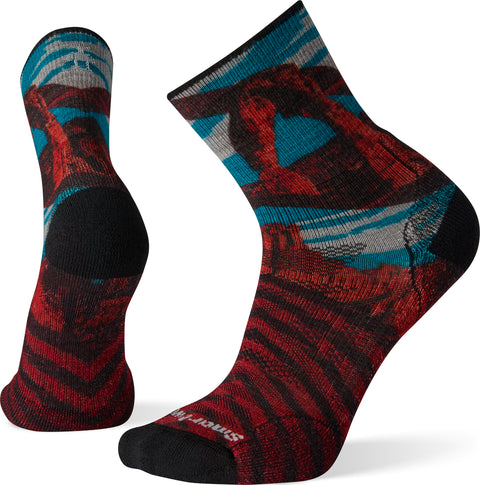 Smartwool PhD Outdoor Light Arches Print Mid Crew Socks - Men's