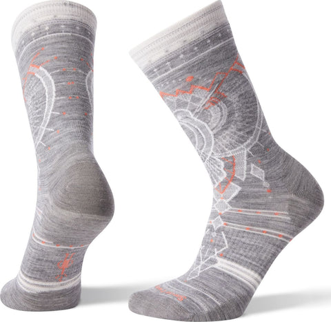 Smartwool Mountain Magpie Crew Socks - Women's