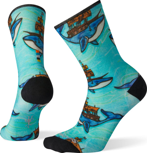 Smartwool Curated Mitas Whale Crew Socks - Women's