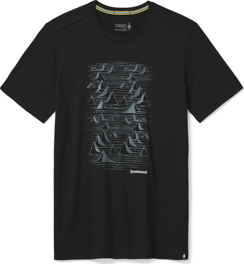 Smartwool Merino Sport 150 Bryan Iguchi Mountains Graphic Tee - Men's