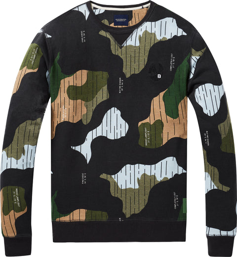 Scotch & Soda All-Over Printed Sweater - Men's