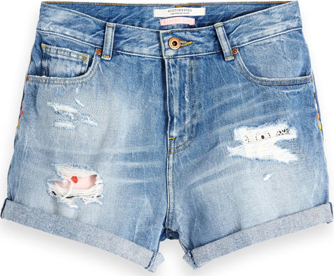 Maison Scotch Festival Denim Short - Women's