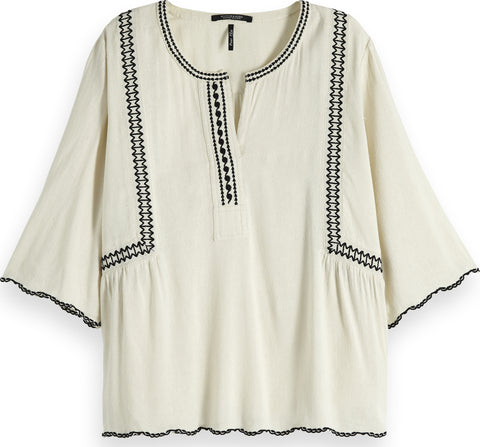 Maison Scotch Embroiderie Top - Women's