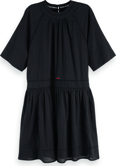 Maison Scotch Ladder Tape Dress - Women's