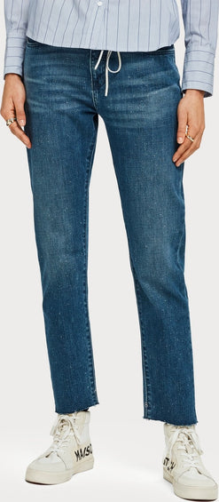 Scotch & Soda Petit Ami Cropped - Shore - Slim boyfriend fit - Women's