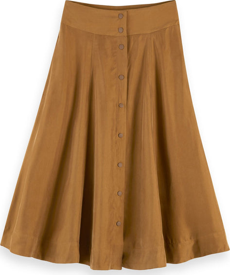 Scotch & Soda Cupro Blend Skirt - Women's