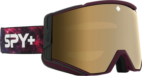Spy Ace Goggle - Galaxy Purple - HD Plus Bronze with Gold Spectra Mirror Lens