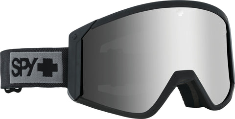 Spy Raider Goggle - Matte Black - Happy Bronze with Silver Spectra Lens