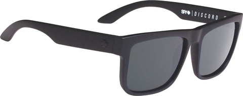 Spy Discord Sunglasses - Soft Matte Black Frame - Happy Gray Green Lens