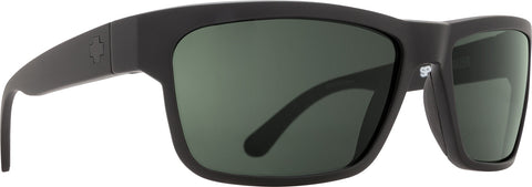 Spy Frazier Sunglasses - Matte Black - HD Plus Gray Green Lens