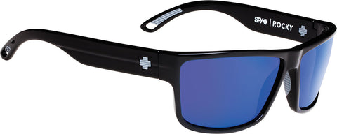 Spy Rocky Sunglasses - Black Frame - Happy Bronze Polarised with Blue Spectra Lens