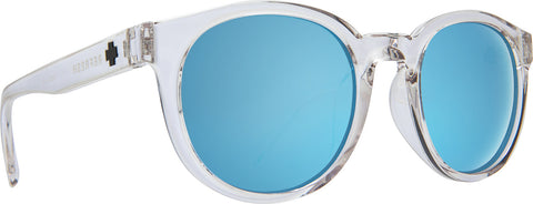 Spy Hi-Fi Sunglasses - Crystal Frame - Gray with Light Blue Spectra Lens
