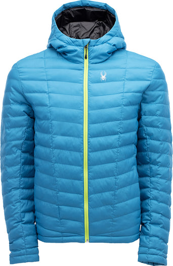 3be6a81e08201 lazy-loading-gif Spyder Manteau à capuchon Tryton Synthetic Homme Lagoon -  Mojito