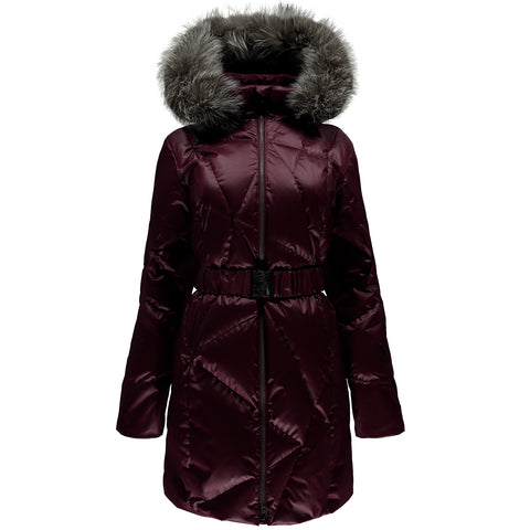 Spyder Women's Pavé Long Down Jacket