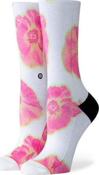 Stance Thermo Floral Crew Socks - Women's