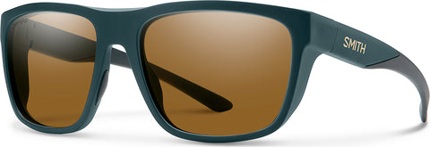 Smith Optics Barra - Matte Forest Tort - ChromaPop Polarized Brown Lens Sunglasses