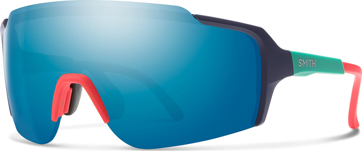 5e62422ffa ... Flywheel Sunglasses Matte Deep Ink - Chromapop Blue Mirror ...