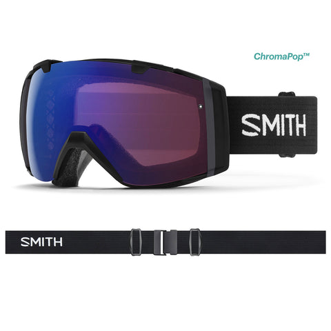 Smith Optics I/O - Black - Chromapop Photochromic Rose Flash + Chromapop Sun Black Lens