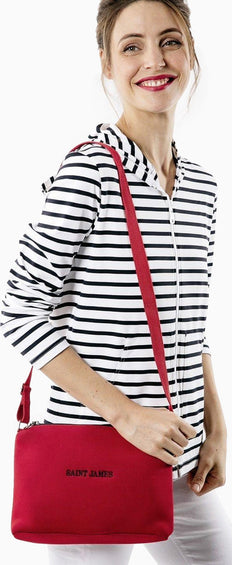 Saint James Plougastel II Striped Hoodie Jacket - Women's