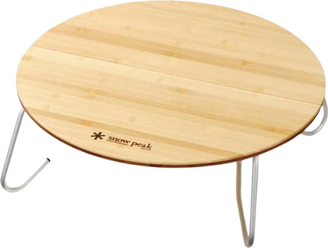 Snow Peak Single Action Round Table - S
