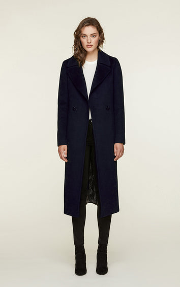 SOIA & KYO Adelaida Wool Coat - Women's