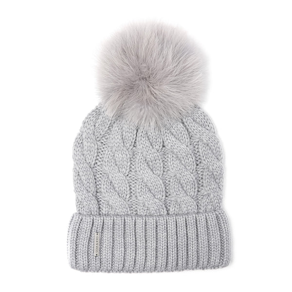 Soia Kyo Women S Amalie Knit Hat Turkey Fur Altitude