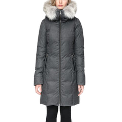 Women's Fanya Down Coat - Coyote Fur
