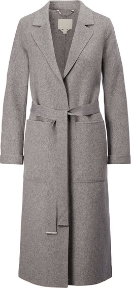 SOIA & KYO Ivonne Long Wool Coat - Women's