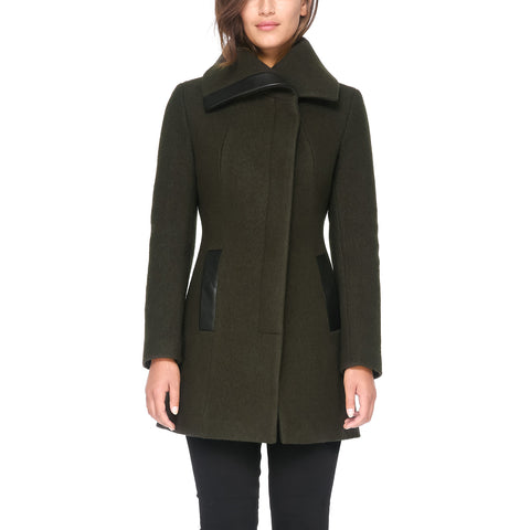 SOIA & KYO Women's Jemma Wool Coat