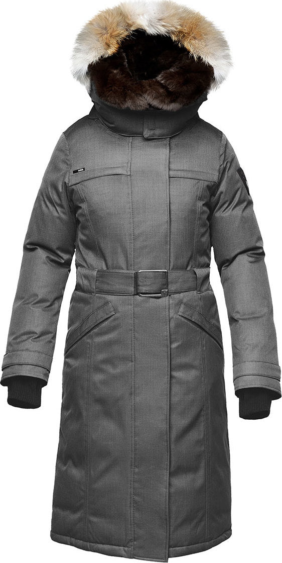 8a9785b510d0 She-Ra Down Parka - Women s Crosshatch Grey ...
