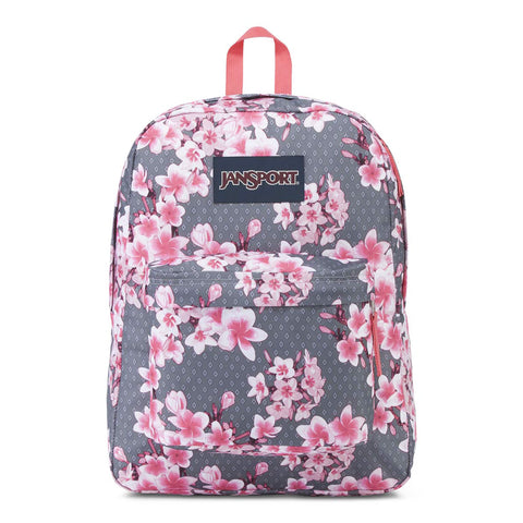 JanSport Superbreak 25L Backpack Diamond Plumeria Pink