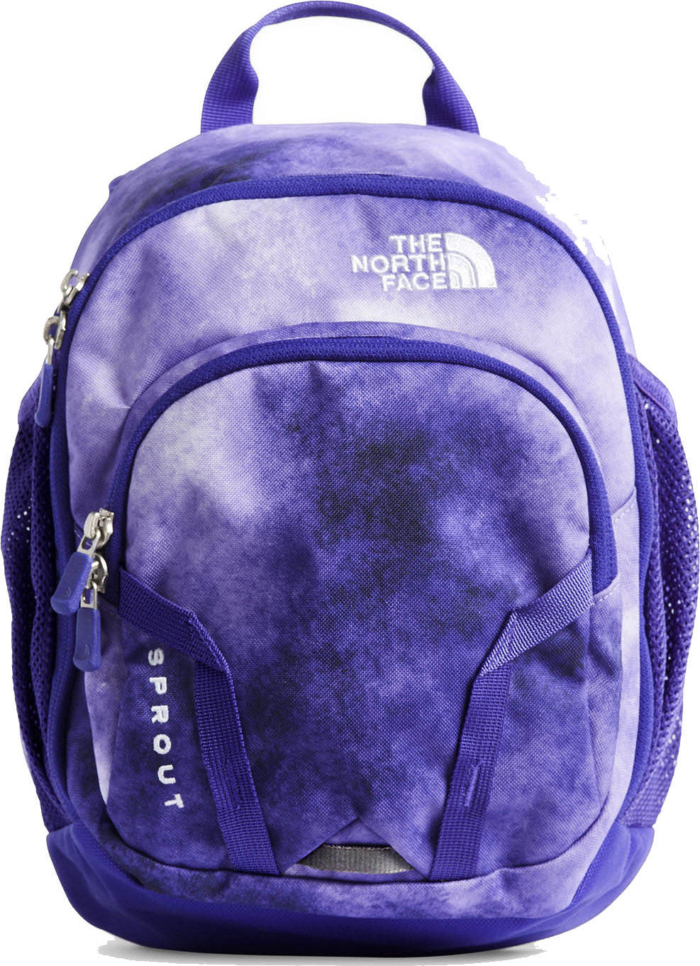 6d4e4591e6 Sprout 10 L Backpack - Youth Dahlia Purple Cloud Print - Deep Blue ...