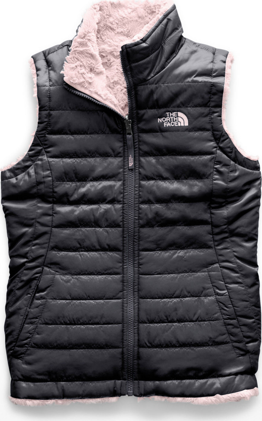 ef0748b86 The North Face Girl's Reversible Mossbud Swirl Vest | Altitude Sports