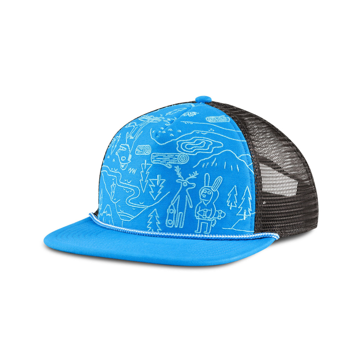 630a3107d62 The North Face Youth Cross Stitch Trucker Hat