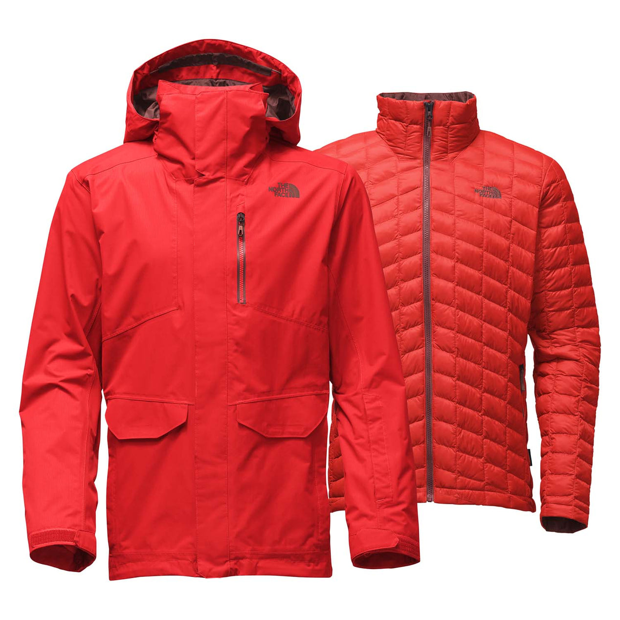 b18d8c0df4 The North Face Parka Thermoball Snow Triclimate Homme | Altitude Sports