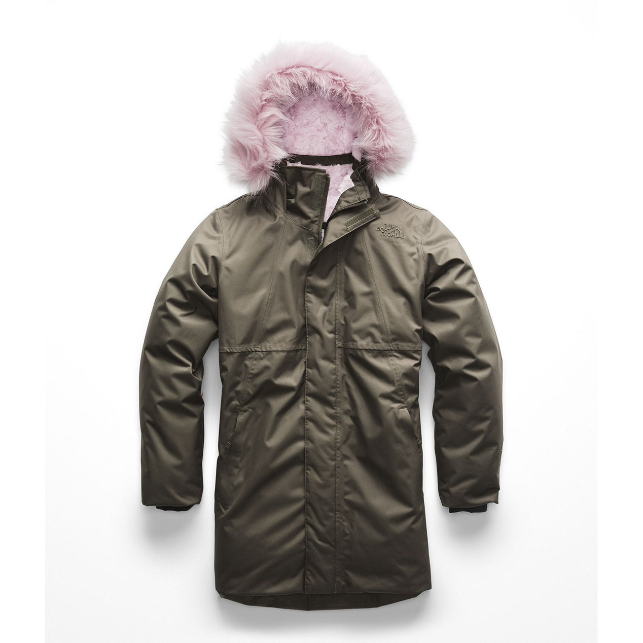 24124b898 The North Face Girl s Arctic Swirl Down Parka