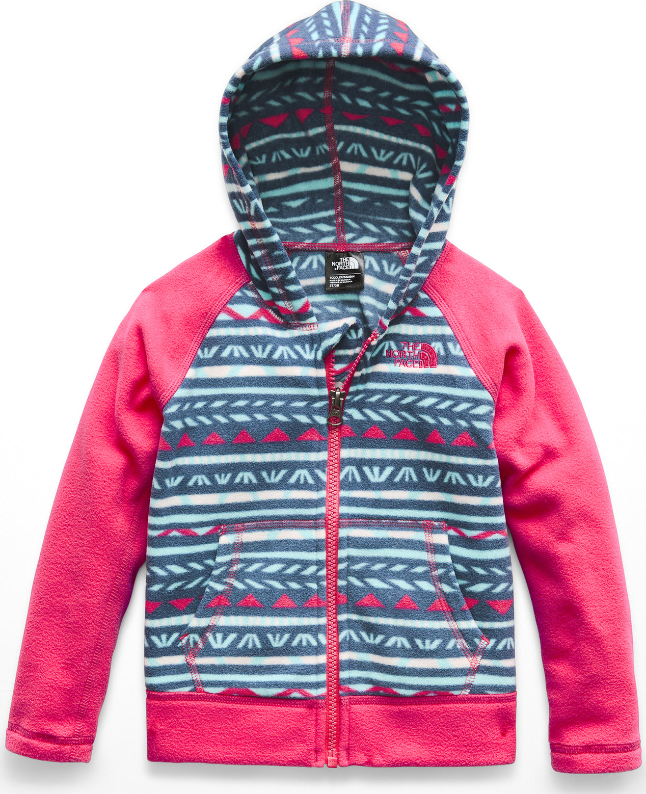 7252cd1ab The North Face Glacier Full Zip Hoodie - Toddler
