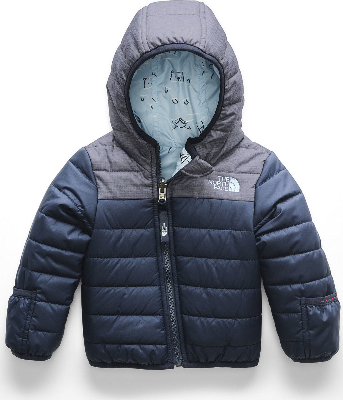 393709d15bf5 The North Face Infant Reversible Perrito Jacket