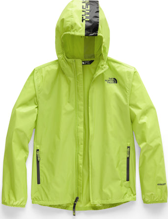 696e5dadf Loading spinner The North Face Flurry Wind Hoodie - Youth Lime Green