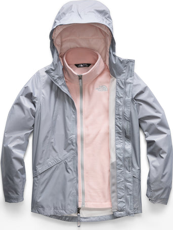 c0c708485 Loading spinner The North Face Stormy Rain Triclimate® Jacket - Girls Mid  Grey